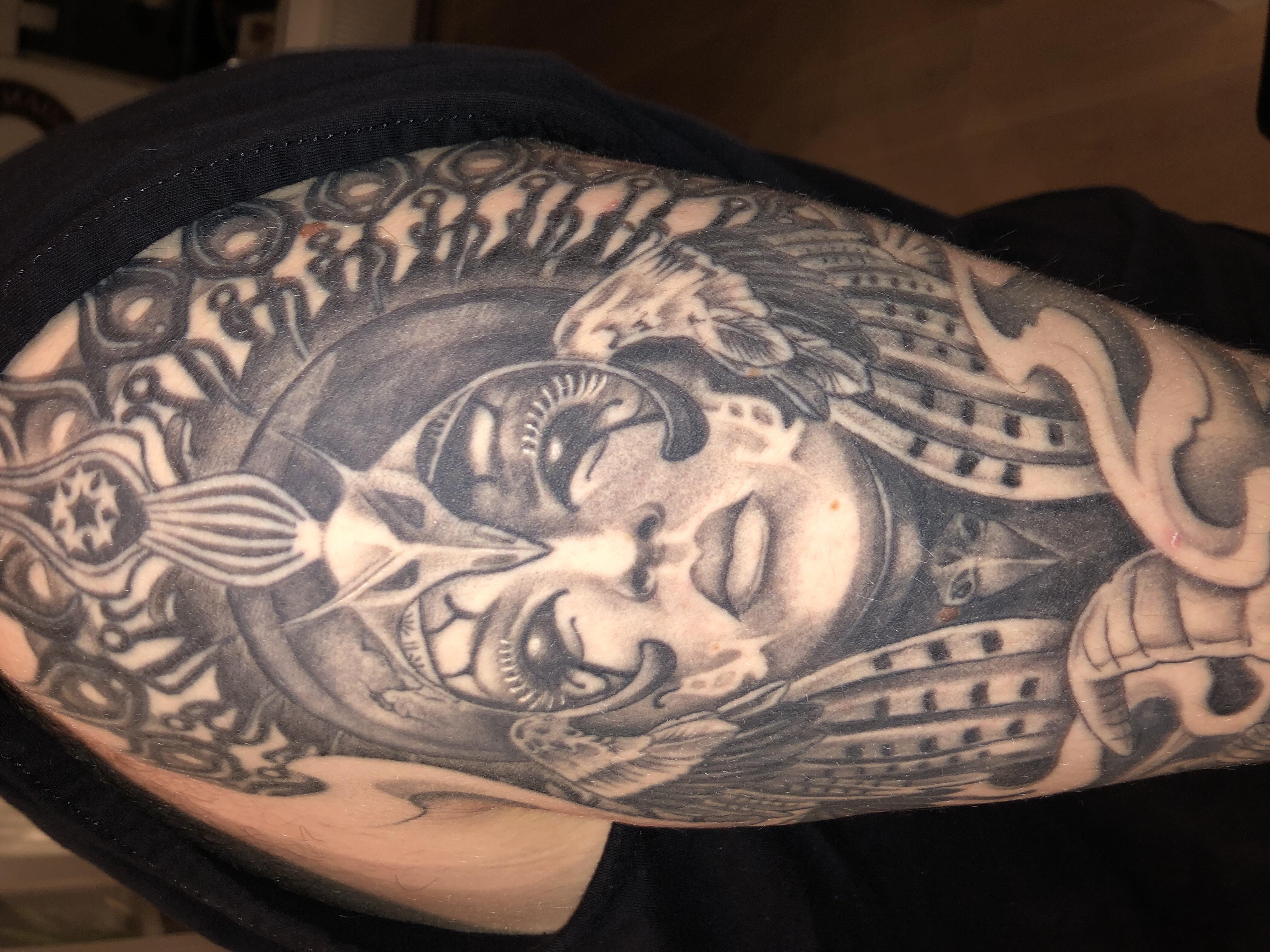 Hardstyle tattoo